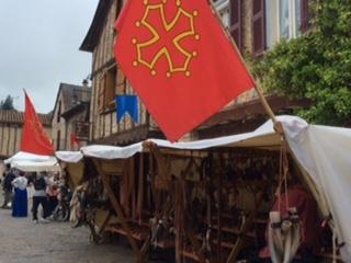 Medieval festival in Najac…