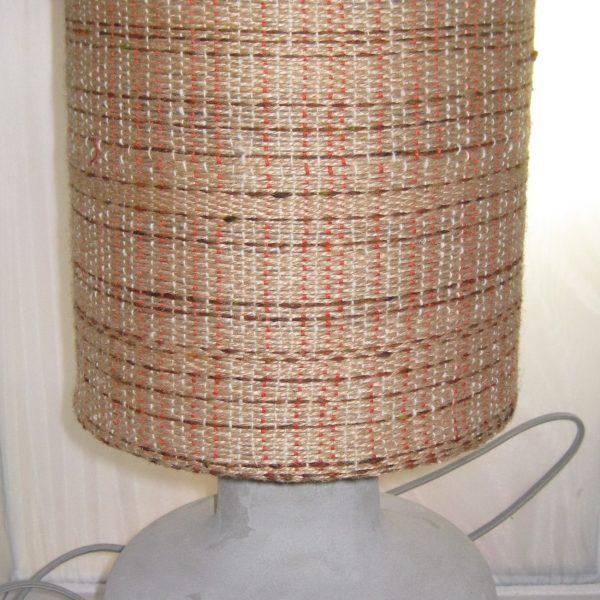 Hey, Jute. 75€ lampshade, 20€ base. 20cm diameter.