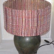 60€ lampshade, 20€ base. 30cm diameter.