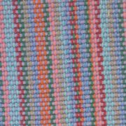 Lilac cotton over mutlicoloured warp, detail