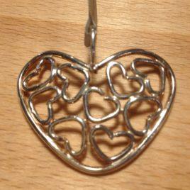 Pendant – Sterling silver heart