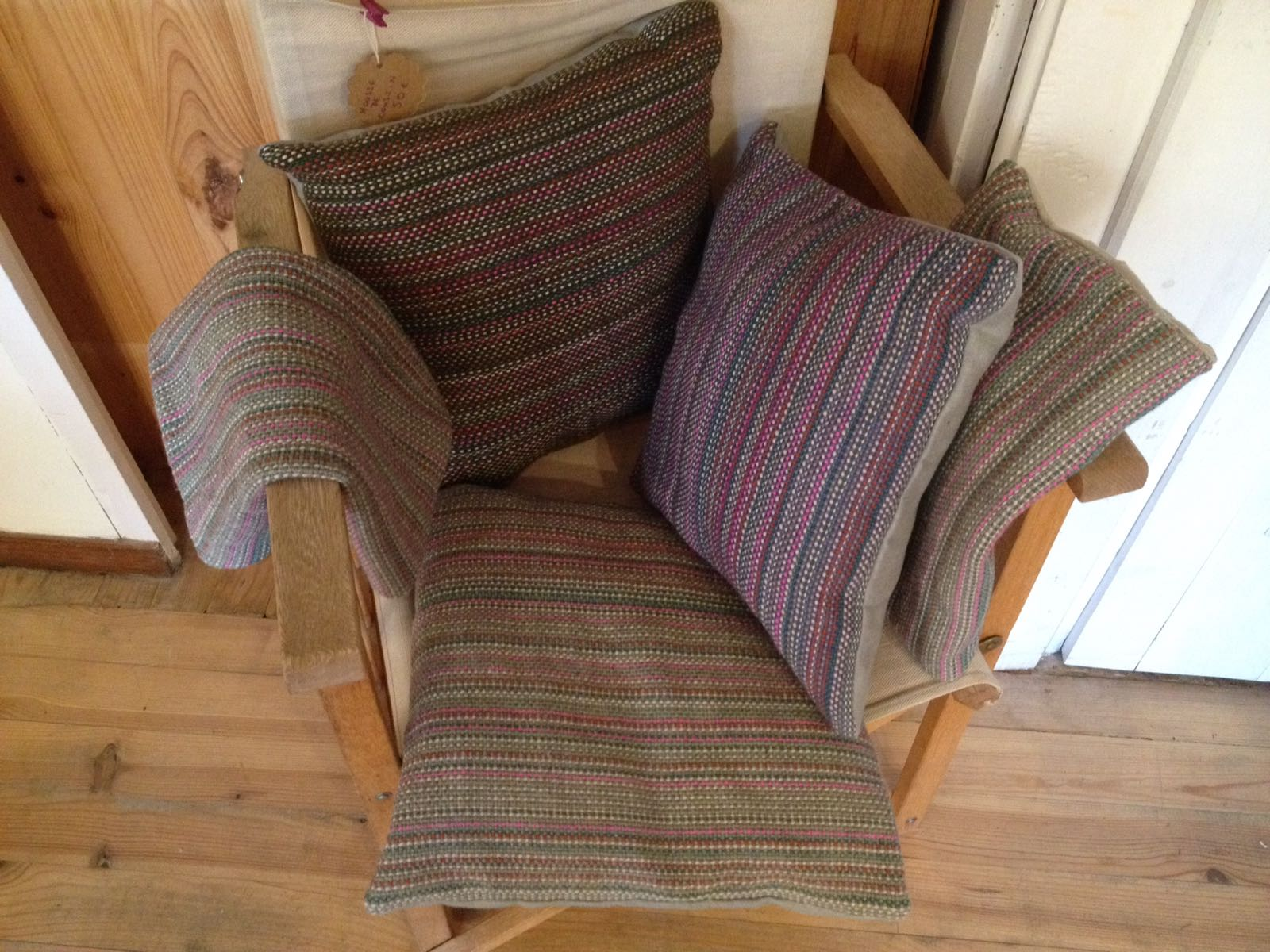Handwoven cushion covers