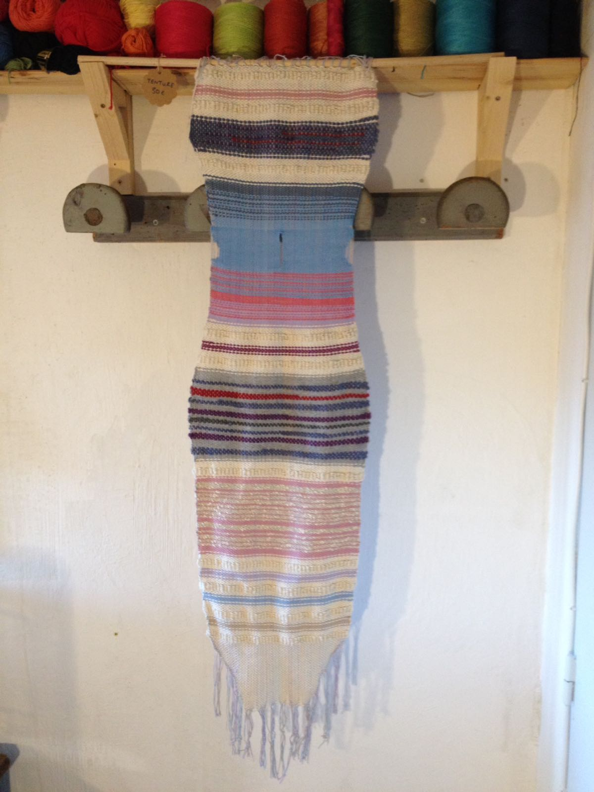 Handwoven Wall Hanging. SOLD.