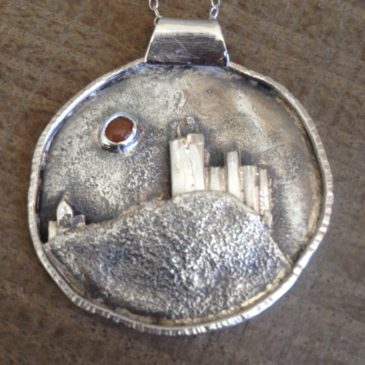 My first jewellery piece of Chateau de Najac…