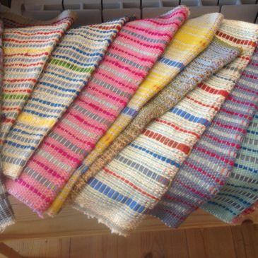 Fabrics for the new cushion covers and …