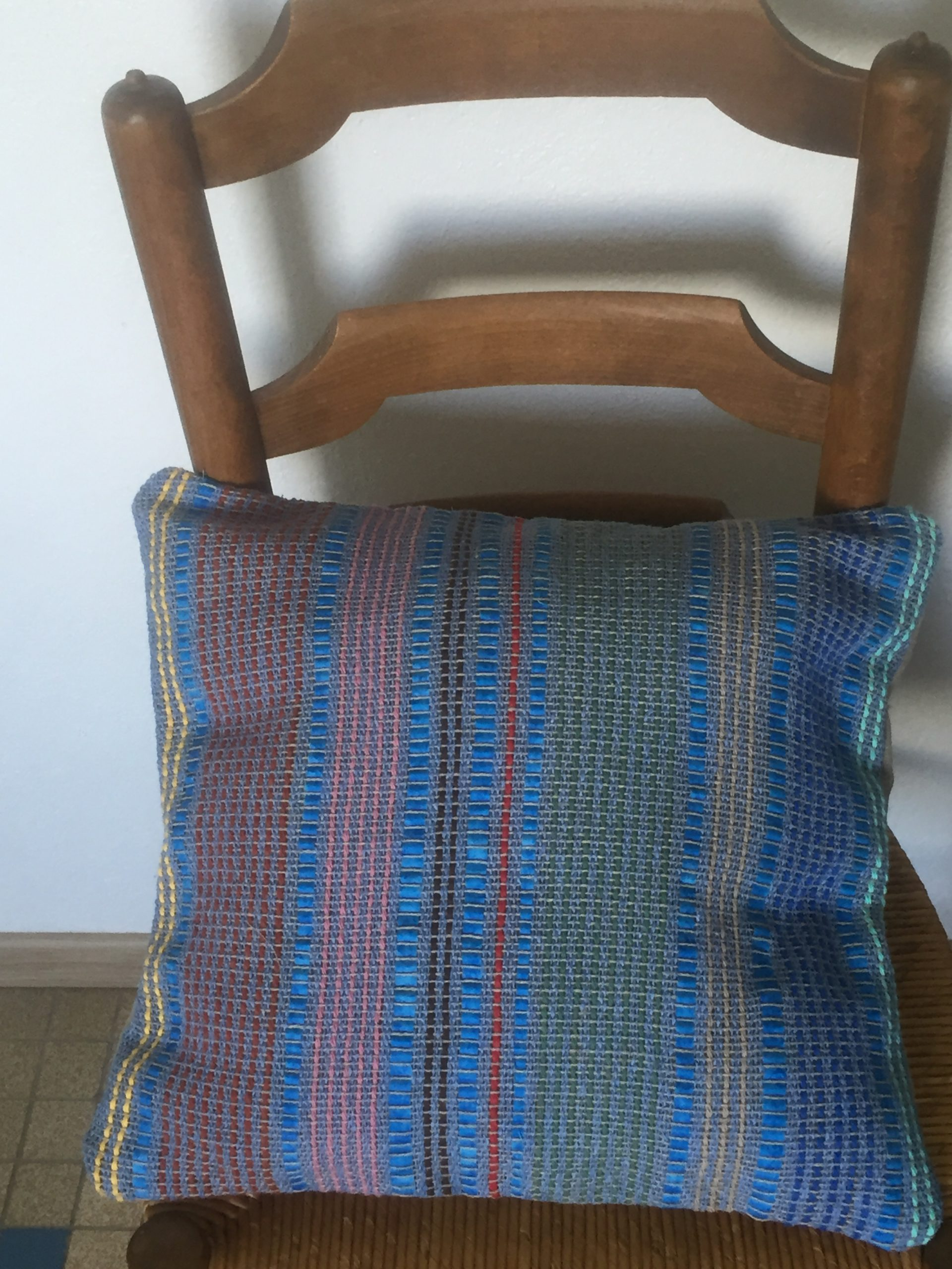 Handwoven Cushion Cover 50€ 40cm x 40cm