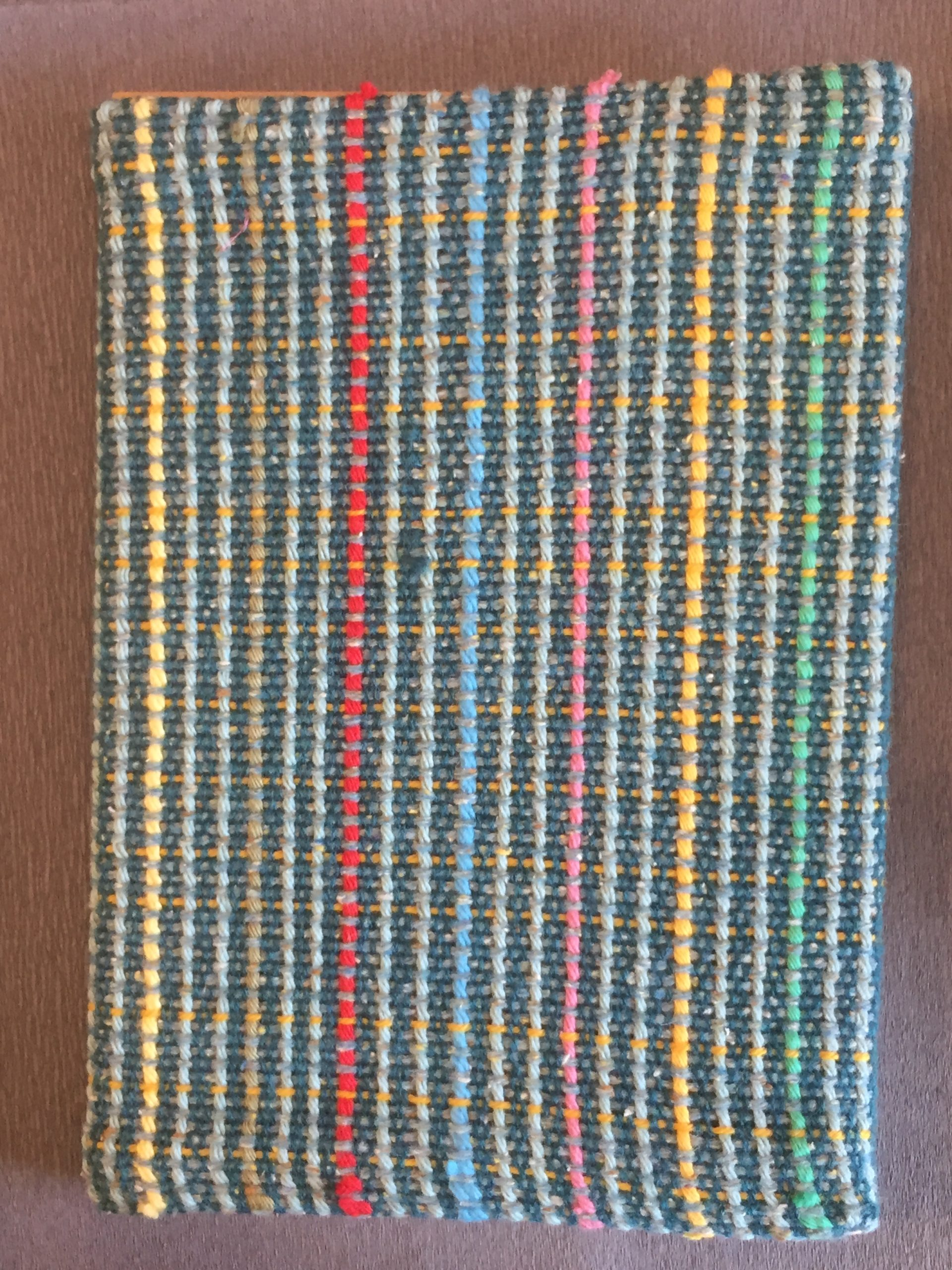 Handwoven Covered Sketchbook 26€