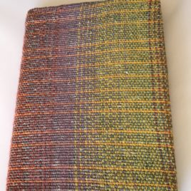 Sketchbook with Handwoven Cover
