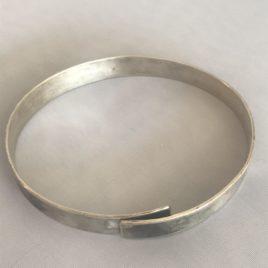 Bracelet – Sterling silver oxidised bangle