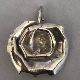 Pendant – Sterling Silver Rose flower