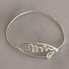 Bracelet – Sterling silver wire Najac